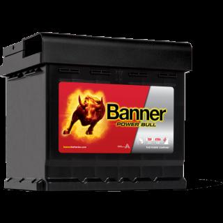 Akumulator Banner Power Bull 50Ah 450A EN PRAWY PLUS