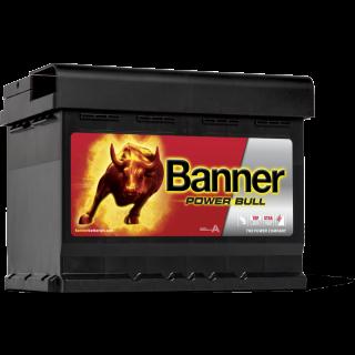 Akumulator Banner Power Bull 62Ah 550A EN PRAWY PLUS