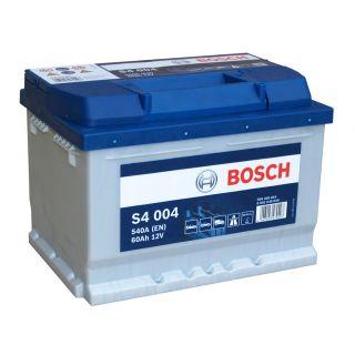 Akumulator Bosch 60Ah 540A EN S4004 PRAWY PLUS