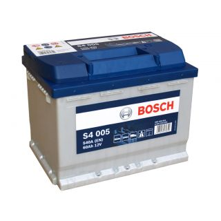 Akumulator Bosch 60Ah 540A EN S4005 PRAWY PLUS