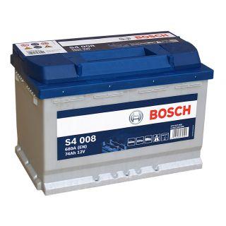 Akumulator Bosch 74Ah 680A EN S4008 PRAWY PLUS