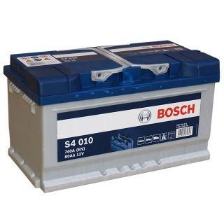 Akumulator Bosch 80Ah 740A EN S4010 PRAWY PLUS