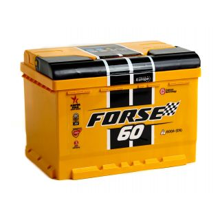 Akumulator FORSE 60Ah 600A EN PRAWY PLUS