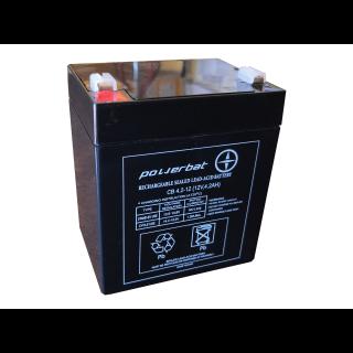 Akumulator żelowy POWERBAT CB 4,2-12 12V 4,2Ah