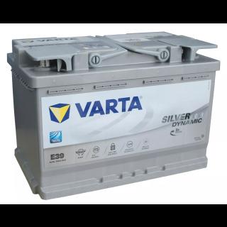 Akumulator VARTA Silver Dynamic AGM START&STOP E39 70Ah 760A