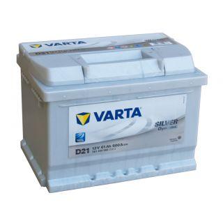 Akumulator VARTA Silver Dynamic D21 61Ah 600A EN