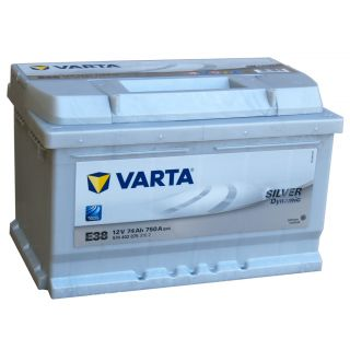 Akumulator VARTA Silver Dynamic E38 74Ah 750A EN