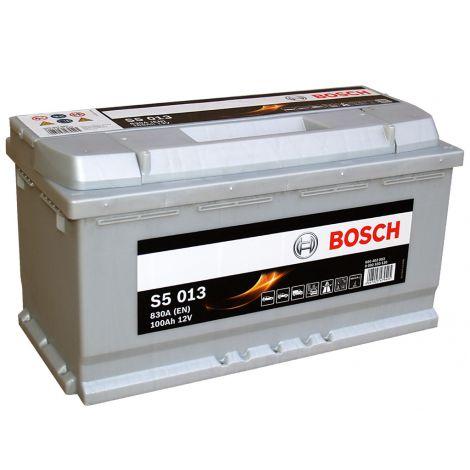 Akumulator Bosch 12V 100 Ah/830 A S5013 wysoki
