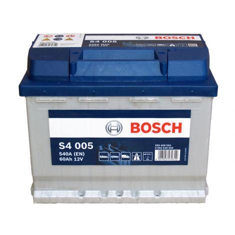 Akumulator Bosch 12V 60Ah/540A S4005 wysoki