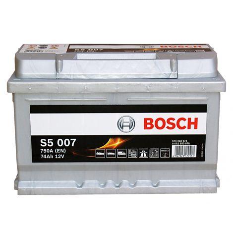 Akumulator Bosch 12V 74Ah/750A S5007