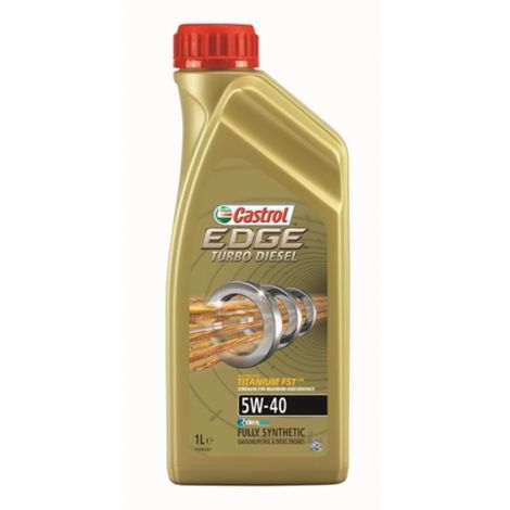 5W40 CASTROL EDGE TURBO DIESEL 1L