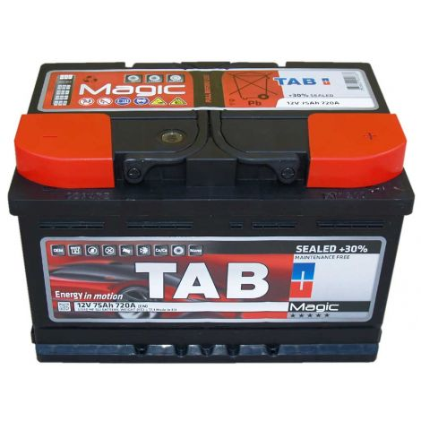Akumulator TAB MAGIC 75Ah/720A niski