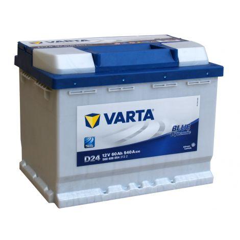 Akumulator VARTA Blue Dynamic D24 60Ah 540A EN