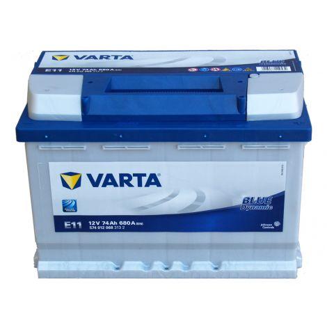 Akumulator VARTA Blue Dynamic E11 74Ah 680A EN