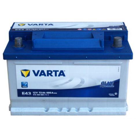 Akumulator VARTA Blue Dynamic E43 72Ah 680A EN