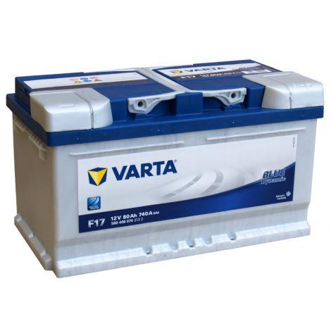 Akumulator VARTA Blue Dynamic F17 80Ah 740A EN