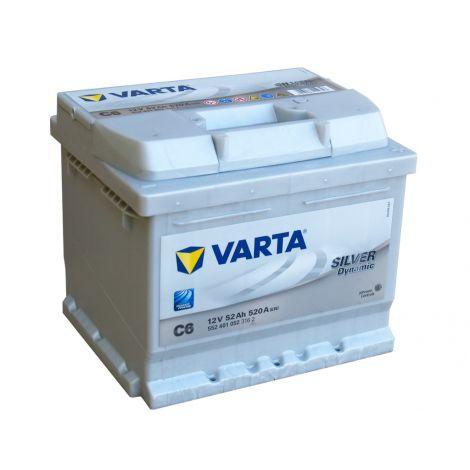 Akumulator VARTA Silver Dynamic C6 52Ah 520A EN P+ niski