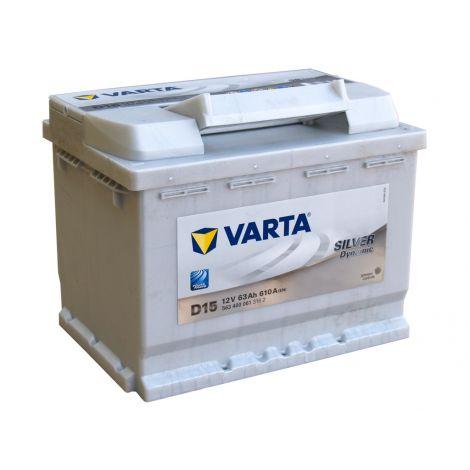 Akumulator VARTA Silver Dynamic D15 63Ah 610A EN P+