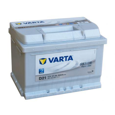 Akumulator VARTA Silver Dynamic D21 61Ah 600A EN P+