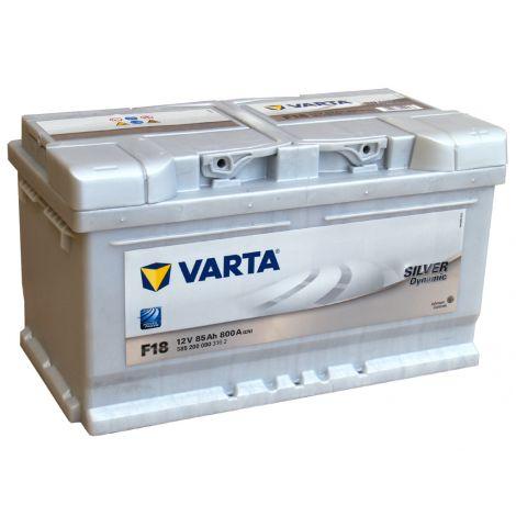 Akumulator VARTA Silver Dynamic F18 85Ah 800A EN P+ niska