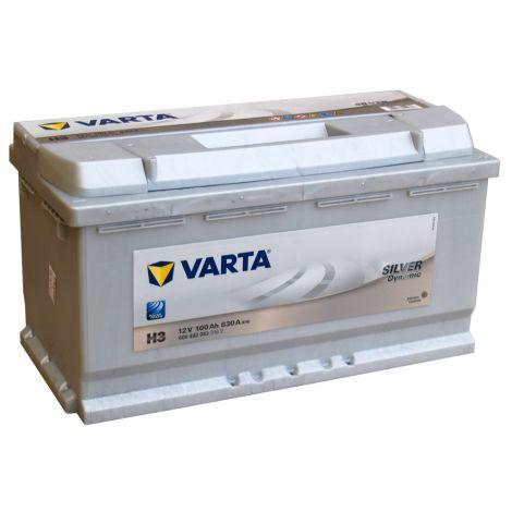 Akumulator VARTA Silver Dynamic H3 100Ah 830A EN P+